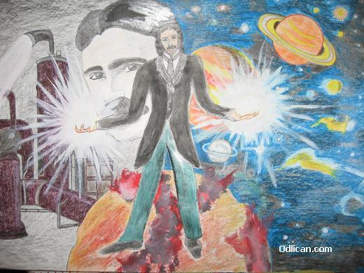 Nikola Tesla by Marko Lucic