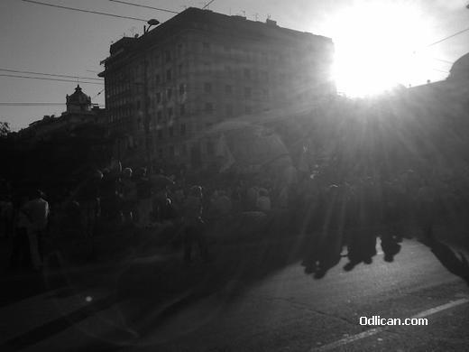 Sunce na Trgu Republike